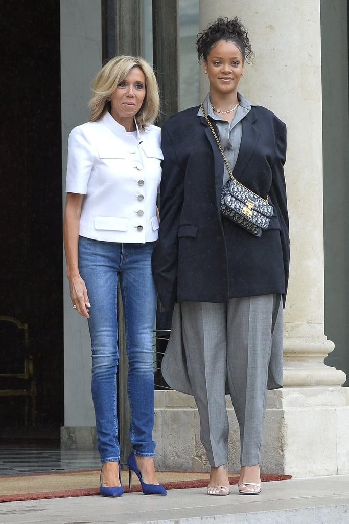 Brigitte Macron Style Popsugar Fashion Uk