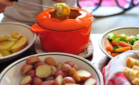 how to make cheese fondue easy
