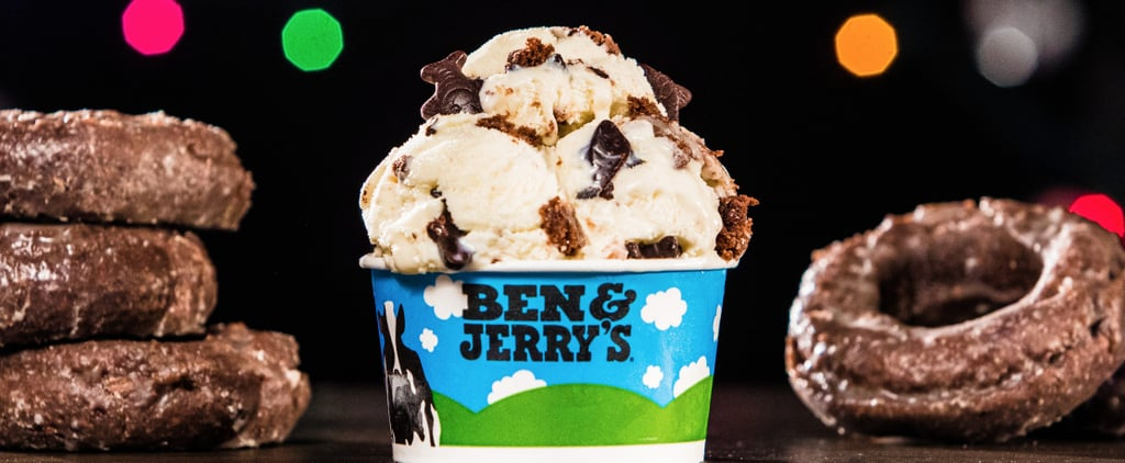 Ben & Jerry's Is Combining Your 2 Fave Things: Ice Cream and Doughnuts