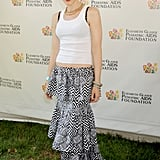 Gwen Stefani was dressed up in a black and white maxi skirt for the annual A Time For Heroes Celebrity Picnic in LA.