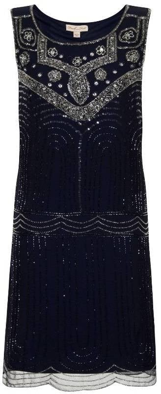 Frock and Frill Annalise Deco Dress (£125)