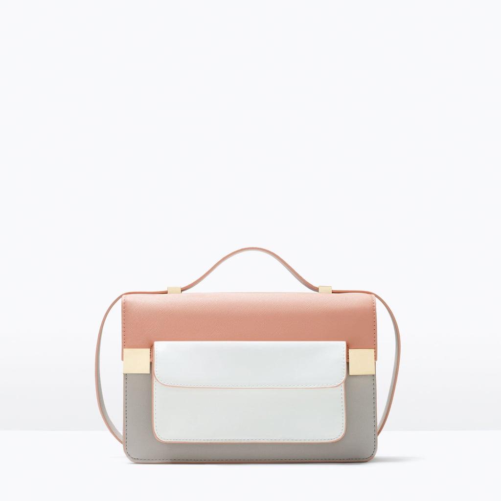 cbe17c698243 Zara Color Block Messenger Bag ( 80)