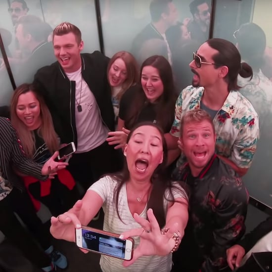 Backstreet Boys Surprise Fans in an Elevator Video