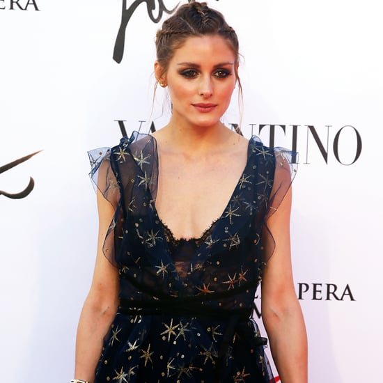 Olivia Palermo Valentino Dress in Rome 2016 May