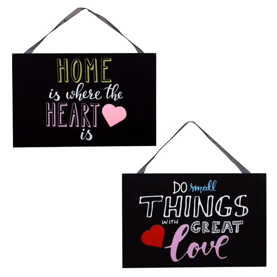 Hanging Love Inspired Wall Signs