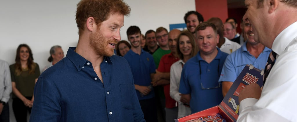 """Prince Harry, Man After Our Own Hearts, Now Has His Own """"Harry Mix"""" of Haribo Gummies"""