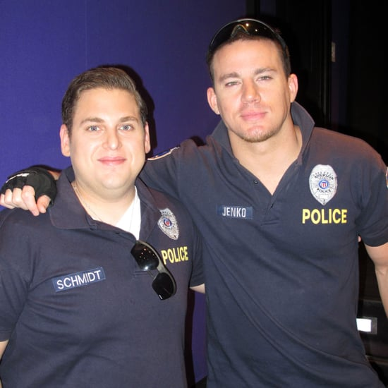 Channing Tatum and Jonah Hill in Police Uniforms Pictures