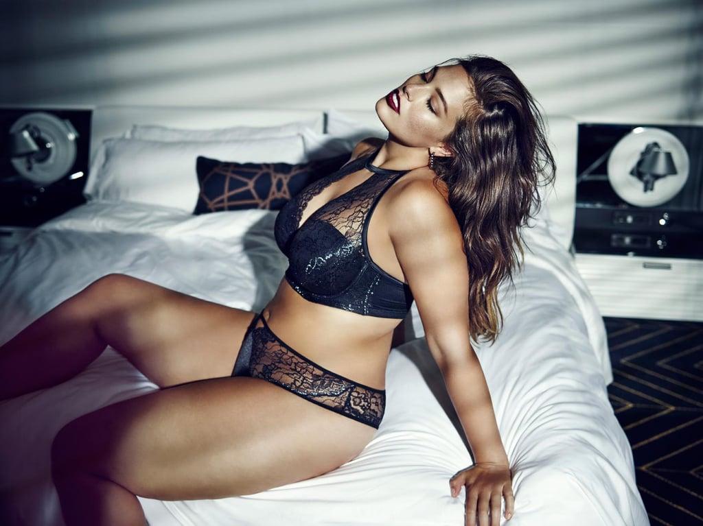 ashley graham addition elle lingerie popsugar fashion. Black Bedroom Furniture Sets. Home Design Ideas