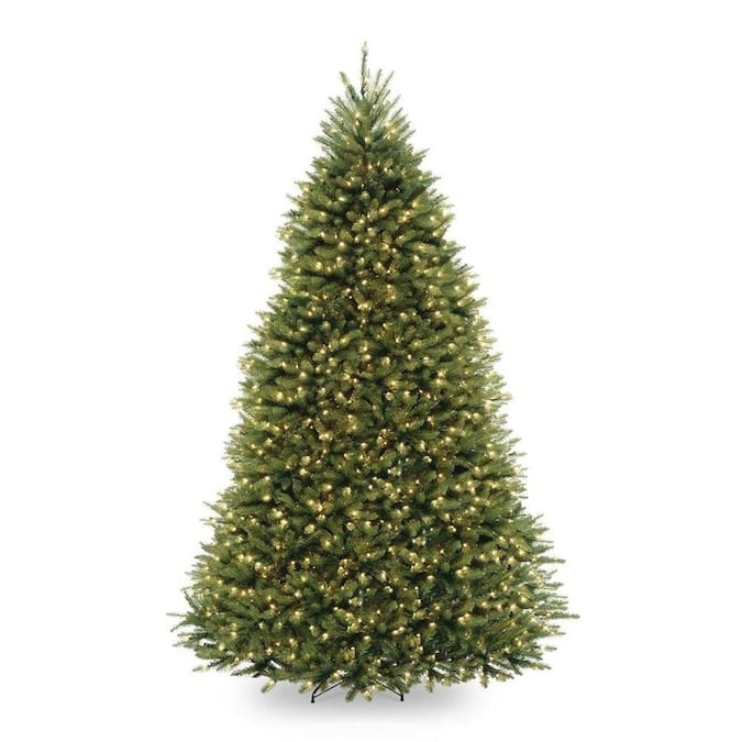 National Tree Company 9-ft Pre-Lit Traditional Artificial Christmas Tree