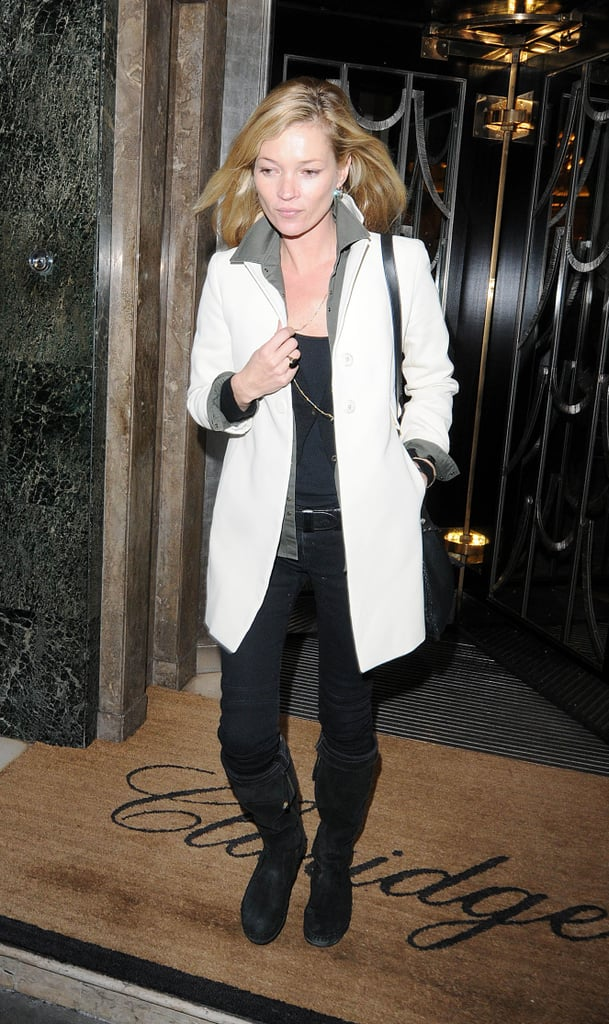 Photos of Kate Moss in Central London