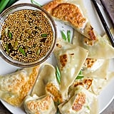 Brussels Sprouts and Shiitake Potstickers