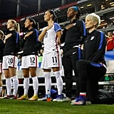 She Was the First White Athlete to Kneel During the National Anthem