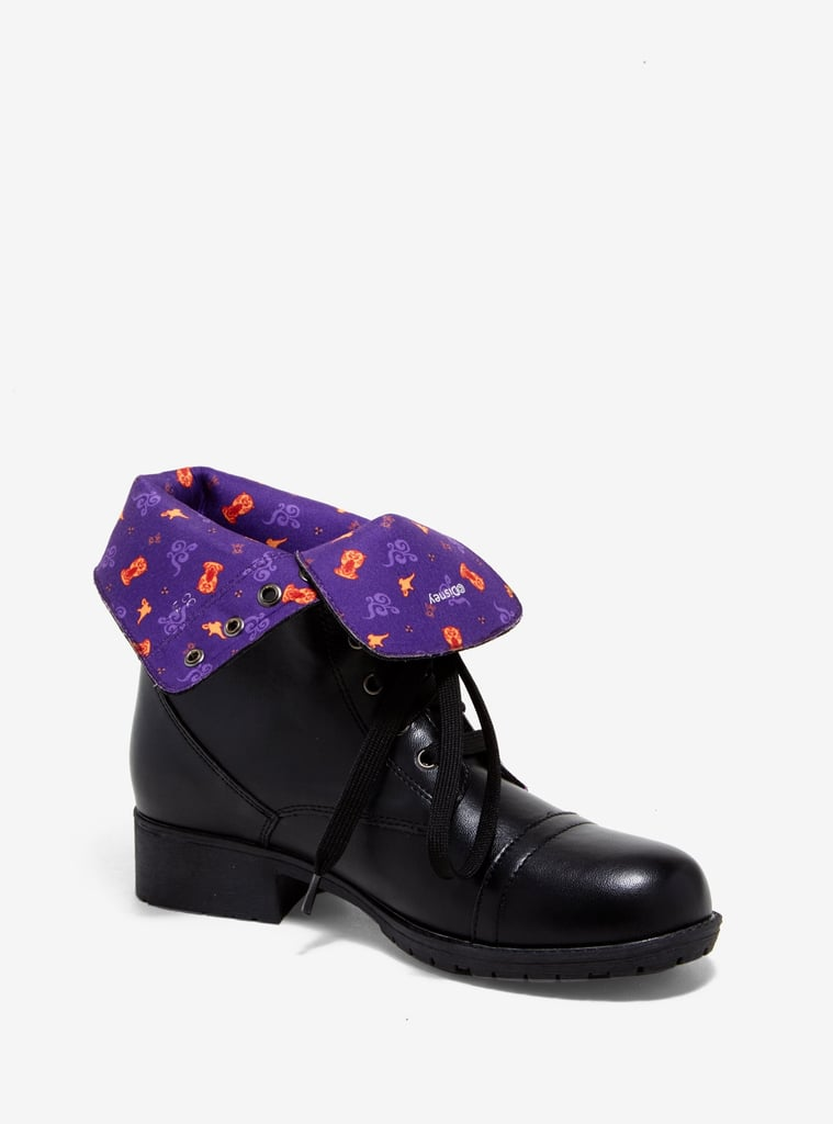 Disney Aladdin Lamp Fold-Over Boots