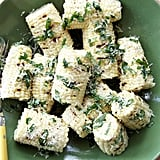 Grilled Corn With Parmesan and Basil
