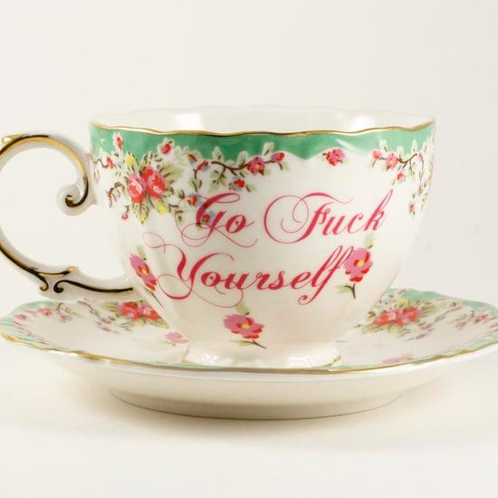 Curse-Word Teacups