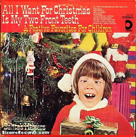 Weird Christmas Album Covers