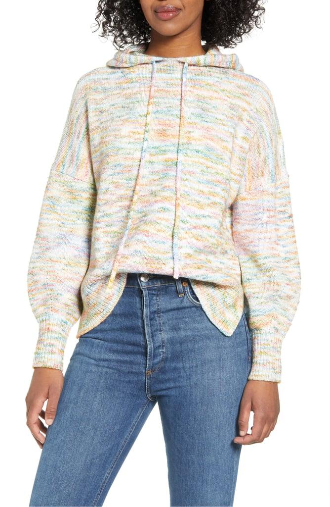 Lou & Grey Space Dye Hoodie Sweater