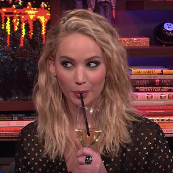 Jennifer Lawrence Ranks Kardashians on WWHL 2018