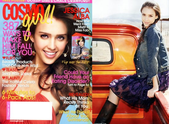 Jessica Alba Is Not a CosmoGirl, Not Yet a Woman