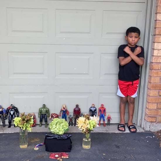 Boy's Touching Tribute to Black Panther's Chadwick Boseman