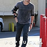Joe Manganiello stepped out in LA on NewYear's Eve.