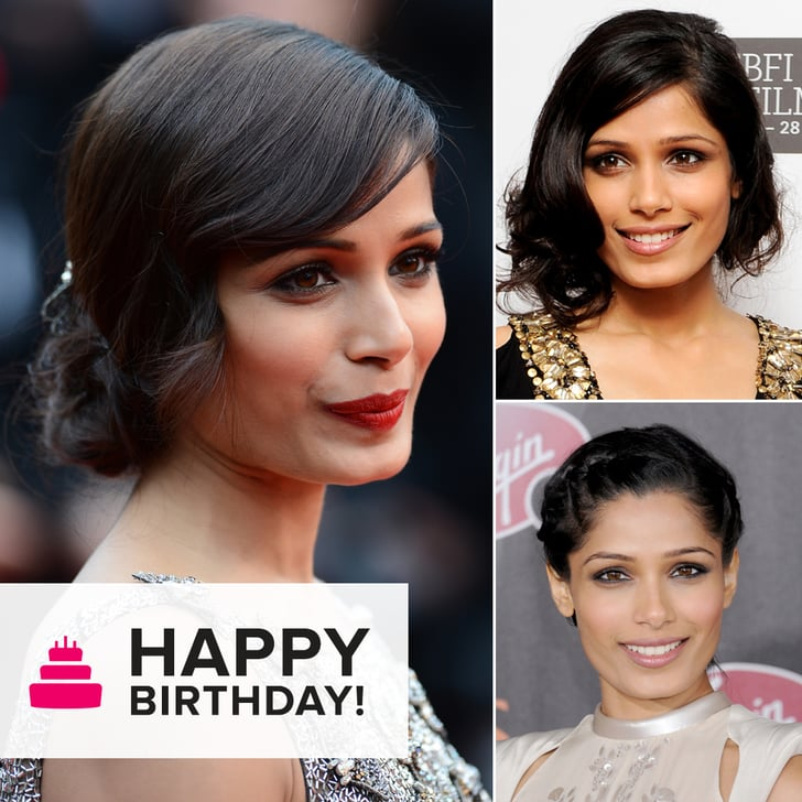 Why Freida Pinto Is the Undisputed Updo Champion