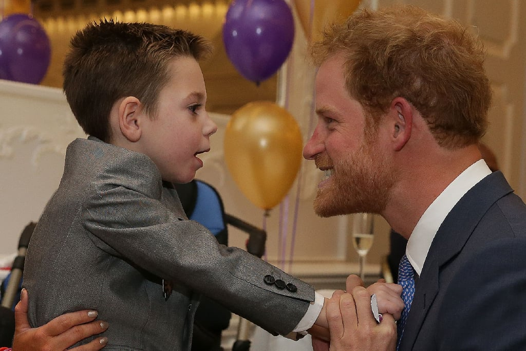 When He Met 5-Year-Old Ollie at the WellChild Awards in London