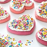 Heart-Shaped Lofthouse-Style Sugar Cookies