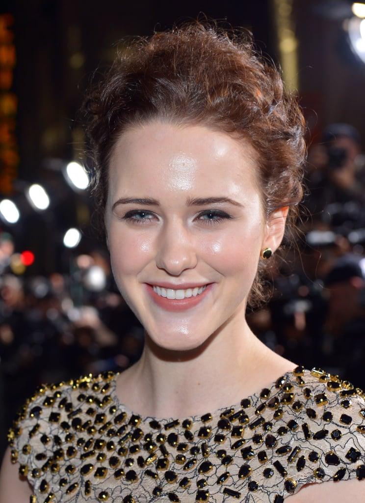 Rachel Brosnahan With Brown Hair In 2013