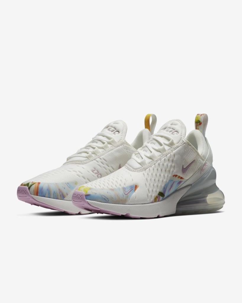 new product 48230 9b5ea Nike Air Max 270 Premium Women's Shoe | Nike Floral Sneakers ...