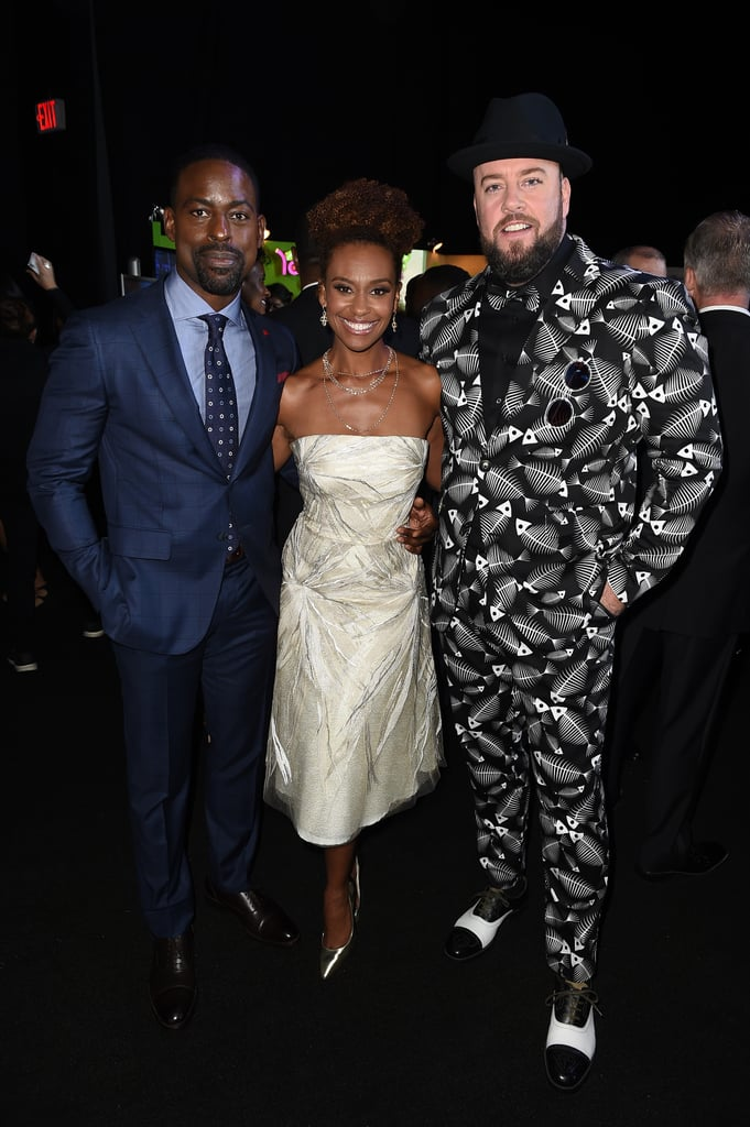 Pictured: Sterling K. Brown, Ryan Michelle Bathe, and Chris Sullivan