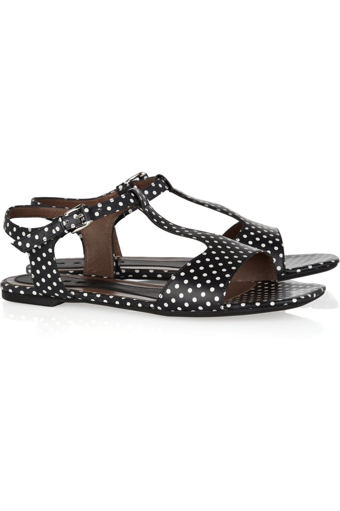 Cute polka dots make these an every-day-of-Spring favorite. Marni Polka-Dot Leather Sandals ($490)