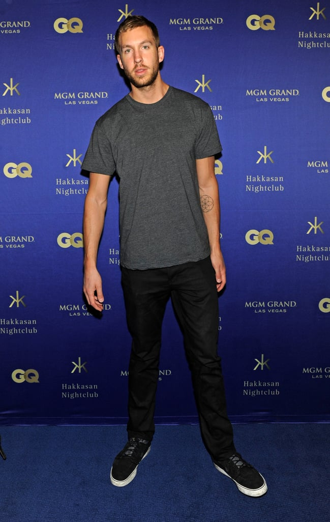 Calvin Harris deejayed the grand opening of Hakkasan in Las Vegas.