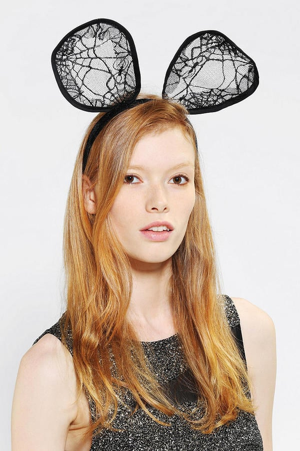 If you're going to be a mouse, you should go for broke with Urban Outfitters' Marrais Mouse Ears Headband ($16).