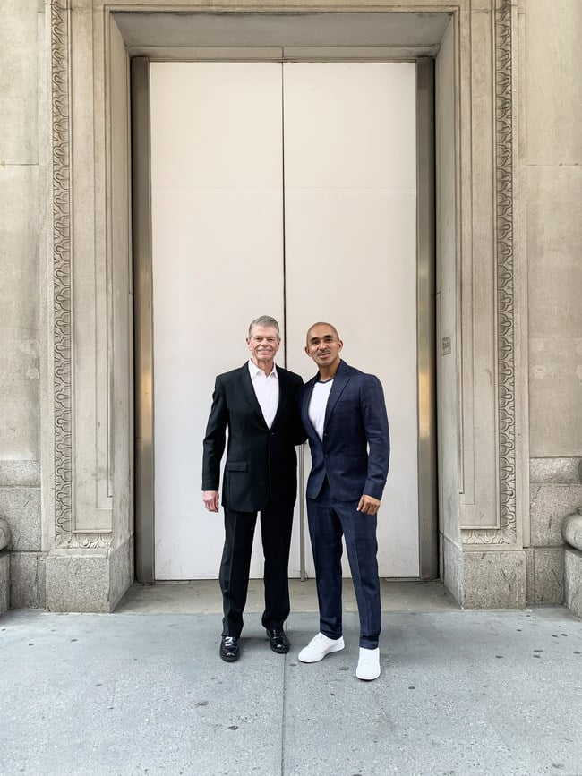 Tom Murry and Raul Peñaranda joining forces at 654 Madison Avenue, NYC