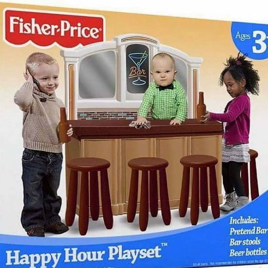 Fisher-Price Fake Bar Playset