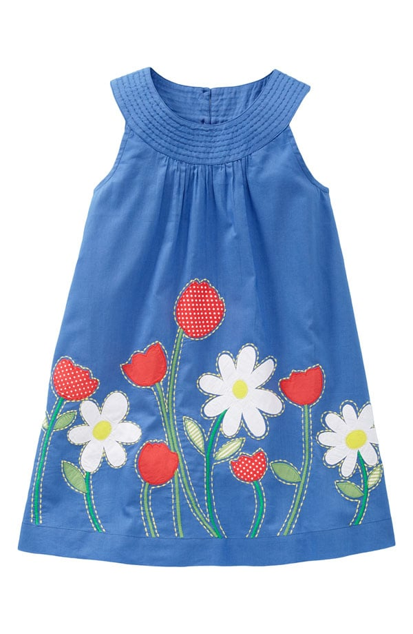 Mini Boden Pretty Appliqué Dress