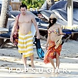 Pregnant Jenna Dewan in a Bikini With Shirtless Channing
