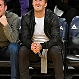 David Beckham Switches to Spectator Following His MLS Cup Win