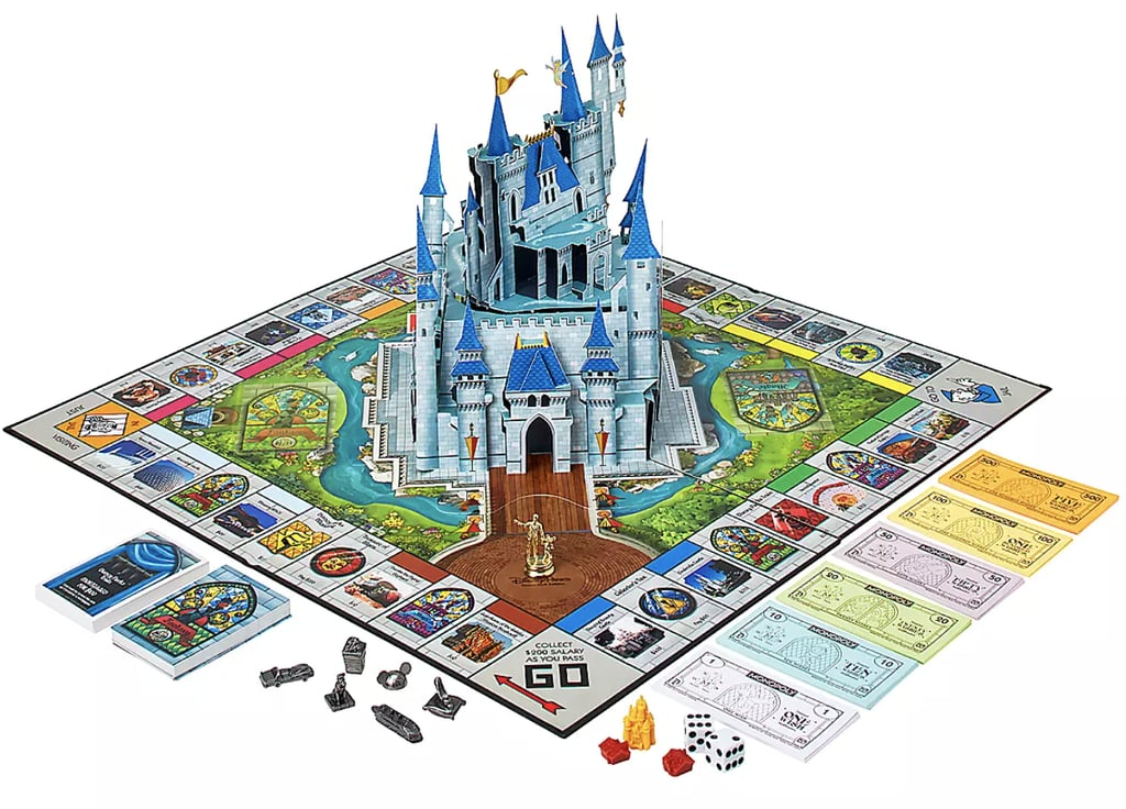 Shop This Disney Theme Park Monopoly Game Board