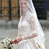 Wedding Flowers: Kate Middleton