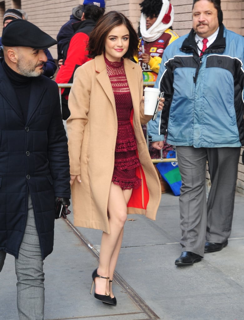 Lucy Hale Changed Her Outfit 5 Times Yesterday — and Each One Was Better Than the Last