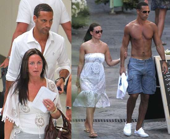 Pictures of Shirtless Rio Ferdinand