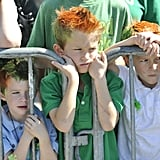And it's encouraged to become a ginger for the day.