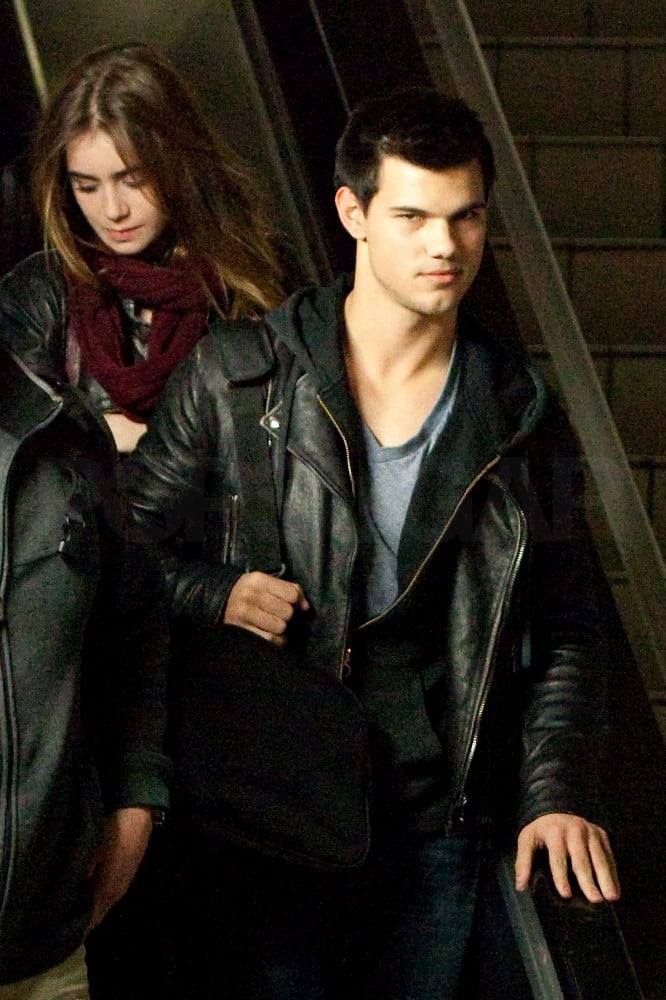 Taylor Lautner lead the way yesterday when he and Lily Collins touched down at LAX. The duo became close while working on Abduction last year, and it looks like their friendship is still going strong. They've been able to meet up and hang out between Taylor's commitments to the production of Breaking Dawn, including a November lunch date. Their latest bit of time together came as high earning Taylor celebrated his 19th birthday on Friday — how well do you know the actor?