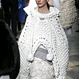 The Burberry Cape Was First Spotted on the Runway at LFW