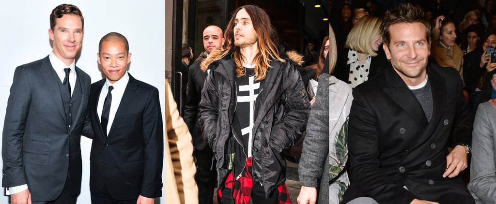 Who Can Focus on Fashion With These Hot Guys Around?