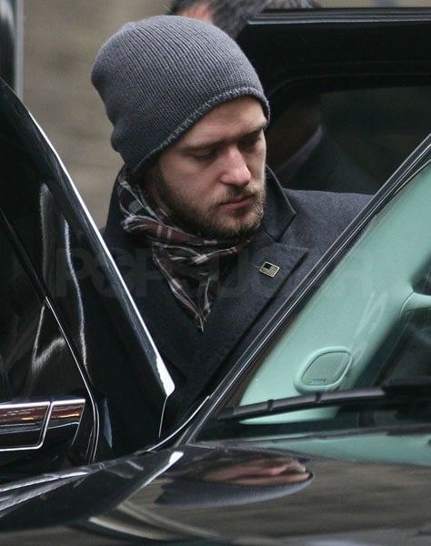 Photos of Justin Timberlake in NYC 2009-02-22 07:00:00