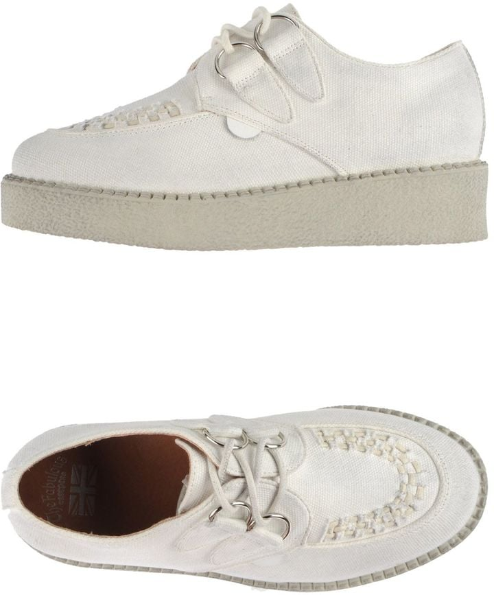 """THE FABULOUS"""" CREEPERS Lace-up shoes ($157)"""