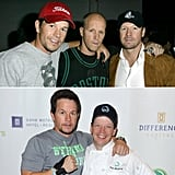 Mark, Donnie, Paul, and Jim Wahlberg
